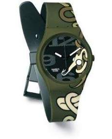 Swatch Watch Serpent soup SKG 101