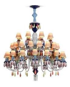 Lladro 1023291 Chandelier CHAND40L MULTIC CE_UK 1023291