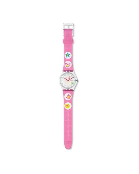 Swatch GE 177 Watch GE177 Pink Candy
