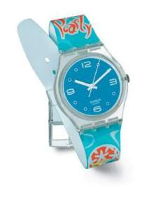 Swatch Watch Lets go partyGK 915