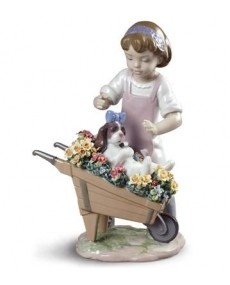 Lladro 01009133 LET\'S GO FOR A RIDE Porcelain Lladro