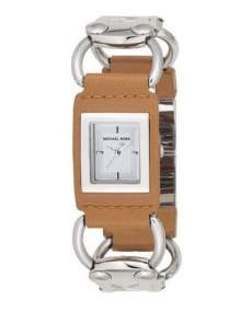 Michael Kors MK2100 Strap for Watch MK2100 Dress Leather