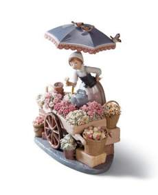 Lladro figurines 01001454 - Flowers of the Season